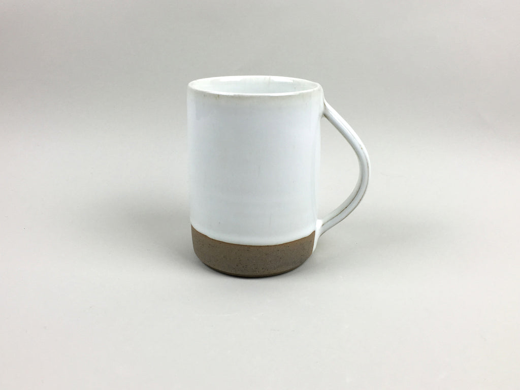 French Stoneware Basic Mug - Ivory - eyespy