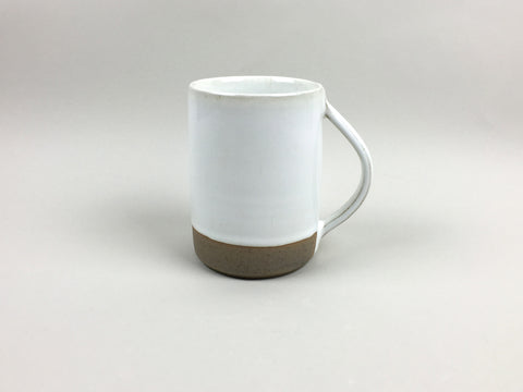 French Stoneware Basic Mug - Ivory