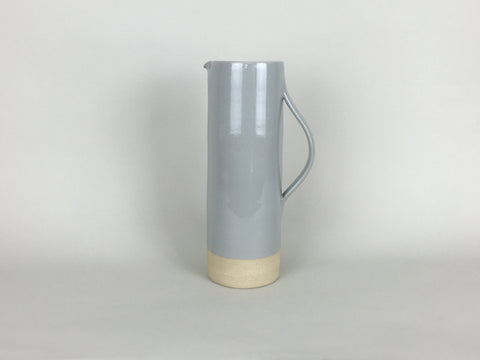 French Stoneware Basic pitcher 1L - Smoke