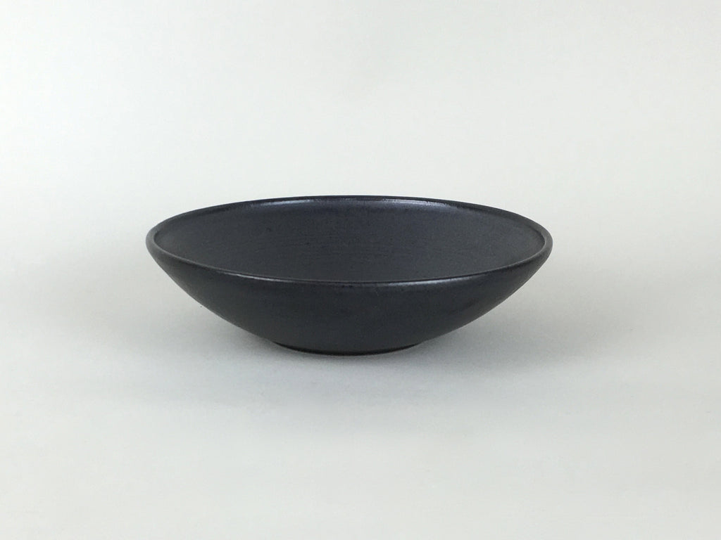 French Stoneware Koom Bowl - Black by Les Guimards - eyespy