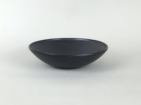French Stoneware Koom Bowl - Black by Les Guimards