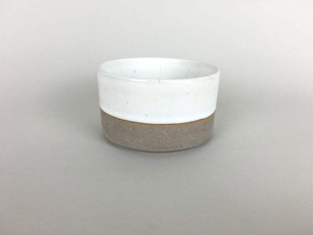 French Stoneware Basic Sugar Bowl - Ivory - eyespy