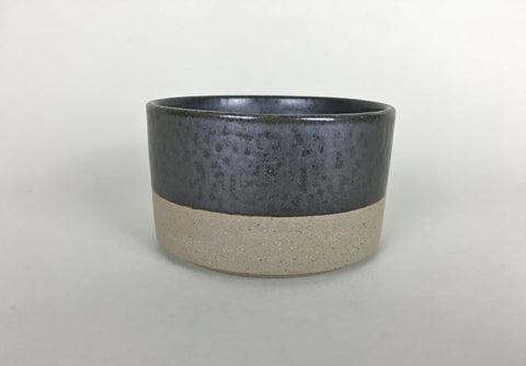 French Stoneware Basic Sugar Bowl - Anthracite