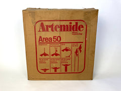 Artemide Area 50 by Mario Bellini. Table / Ceiling / Wall light. Italy 1980s