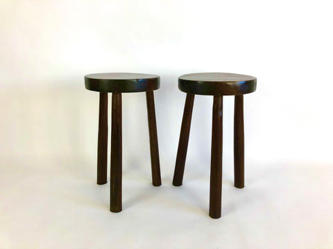 Antique Italian winery stools