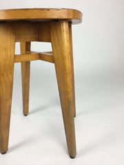 Mid century stool from France. Perriand, Prouvé, Le Corbusier era - eyespy