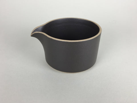 Hasami Porcelain Milk Pitcher Black - Matte Glaze