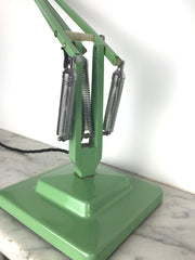 60s Herbert Terry Anglepoise desk lamp - Green - eyespy