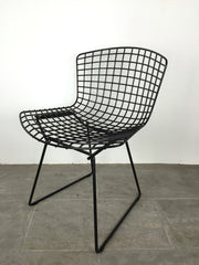 Knoll Bertoia wire side chair - Black - eyespy