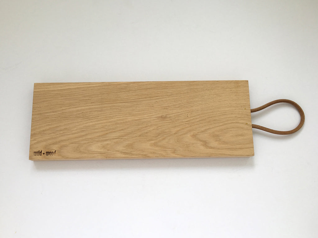 Natural Oak Tapas Board by Wild and Wood - eyespy