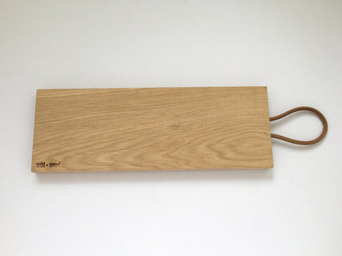 Natural Oak Tapas Board by Wild and Wood