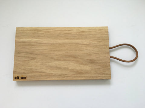 Natural Oak Board by Wild and Wood
