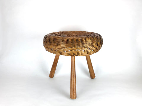 Wicker Side table / Stool, Tony Paul