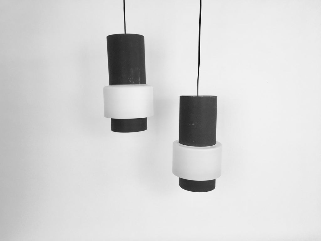 Pair of pendant lamps, Louis Kalff for Philips, model NT61 - eyespy
