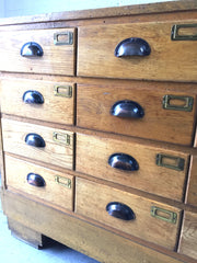Haberdashery shop drawers - eyespy