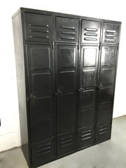 online vintage industrial for sale -  antique steel metal factory lockers from France