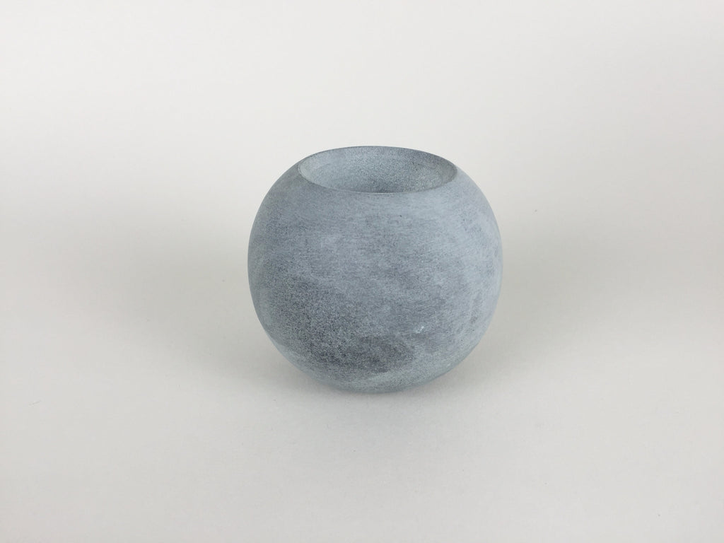 Ball of Stone double sided candle holder by Tiipoi - eyespy