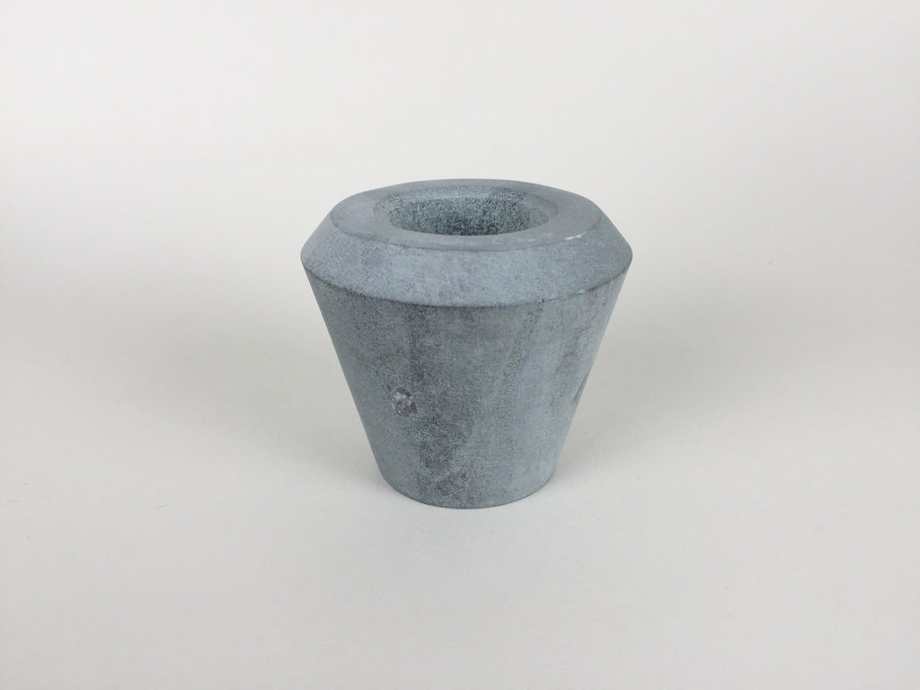 Cone of Stone double sided candle holder by Tiipoi - eyespy