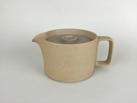 Hasami Porcelain Teapot Natural - Unglazed