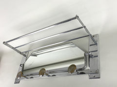 1950s coat rack - Chrome - eyespy