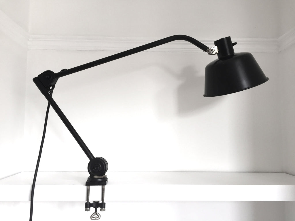 Bauhaus era HALA desk/bench mount lamp - eyespy