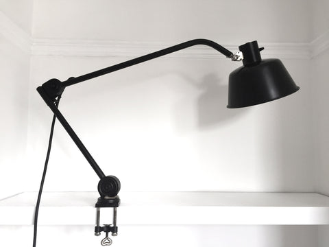 Bauhaus era HALA desk/bench mount lamp