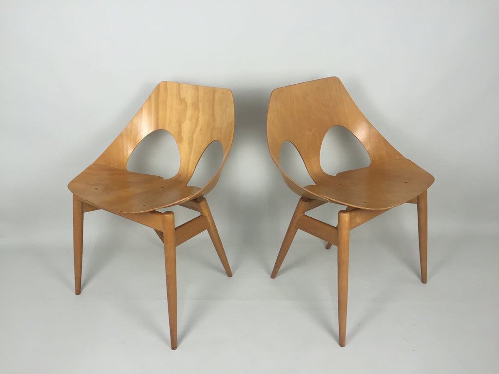 & Kandya Jason bent ply chairs by Carl Jacobs and Frank Guille - eyespy