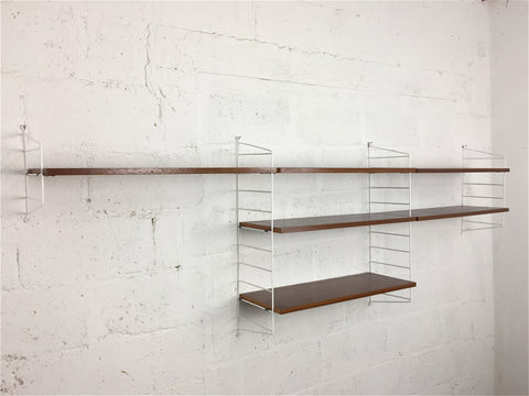 Vintage modular shelving by Nisse Strinning for String, Sweden