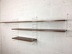 Vintage modular shelving by Nisse Strinning for String, Sweden - eyespy