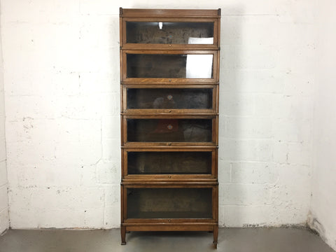 Antique Globe Wernicke barrister's bookcase