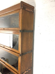 Antique Globe Wernicke barrister's bookcase - eyespy