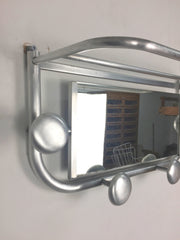 1950s French coat rack and mirror - eyespy