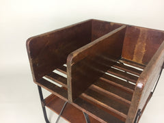 Vintage industrial sorting/storage unit - eyespy