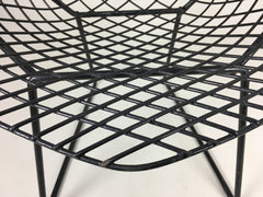 Bertoia diamond chair in black - eyespy