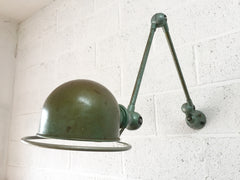 Vintage industrial French 2 arm lamp by Jielde - eyespy
