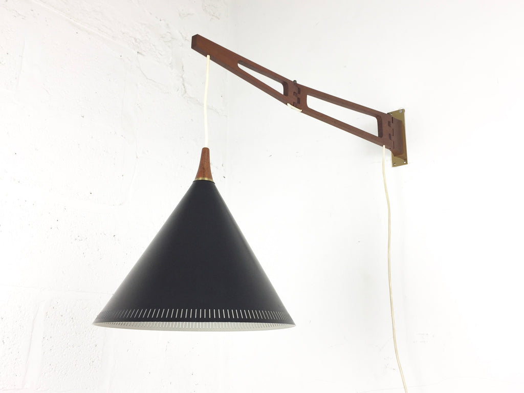 Mid century swing arm wall lamp - eyespy