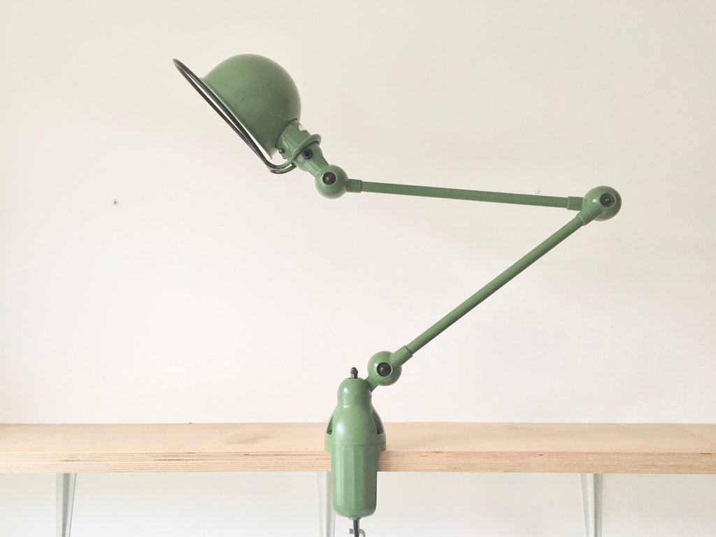 Jielde desk lamp - Green - eyespy