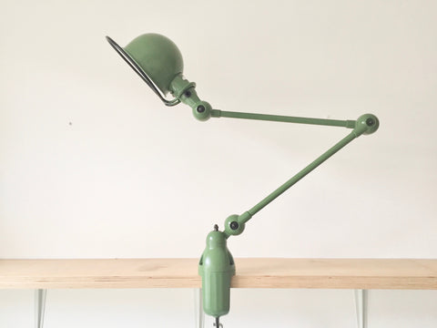 Jielde desk lamp - Green