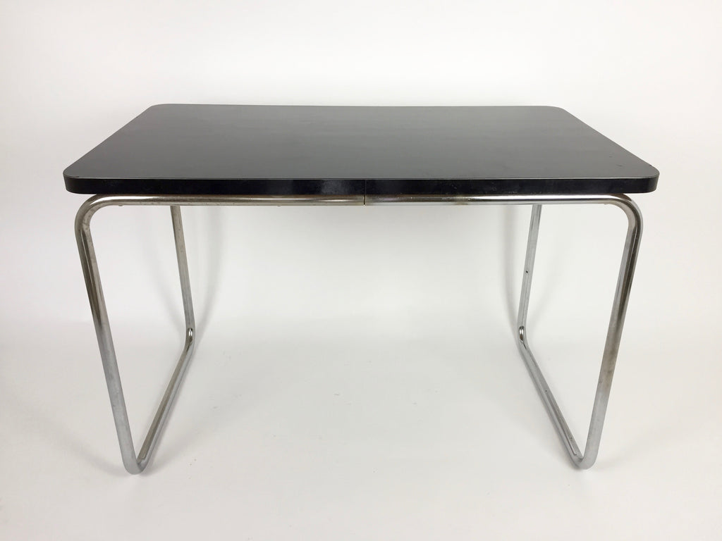 Mid century Bauhaus tubular steel desk/table - eyespy