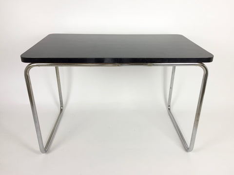 Mid century Bauhaus tubular steel desk/table