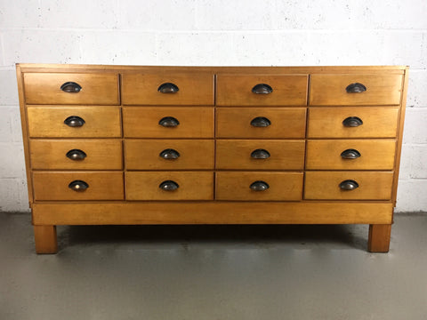 Early 20th century haberdashery shop drawers