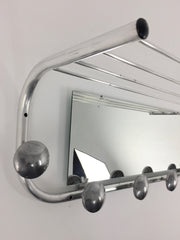 1950s French coat rack and mirror - Large - eyespy