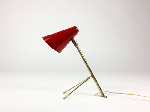 French 50s Cocotte lamp by Jean Boris-Lacroix