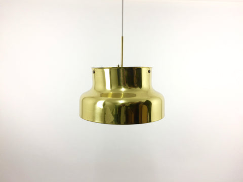 Large brass 'Bumling' pendant lamp by Anders Pehrson for Ateljé Lyktan