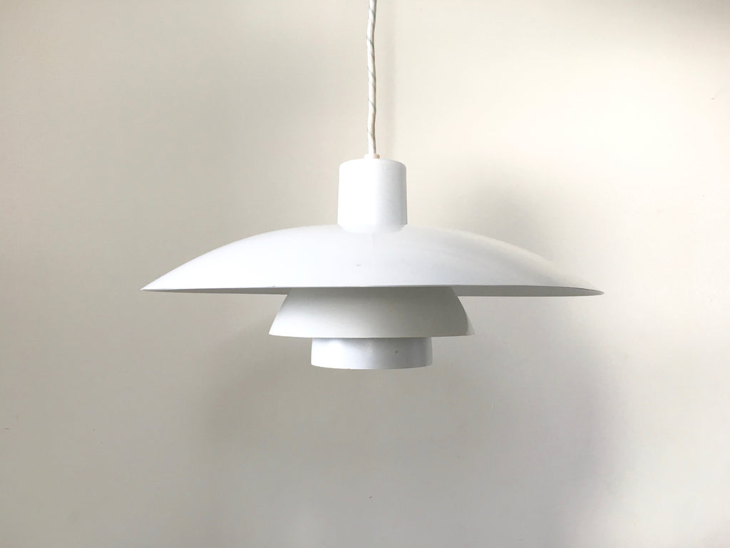 Danish Louis Poulsen 4/3 pendant light - eyespy