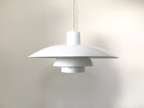 Danish Louis Poulsen 4/3 pendant light