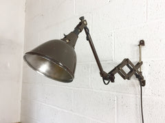 Bauhaus scissor arm wall lamp by Midgard - eyespy