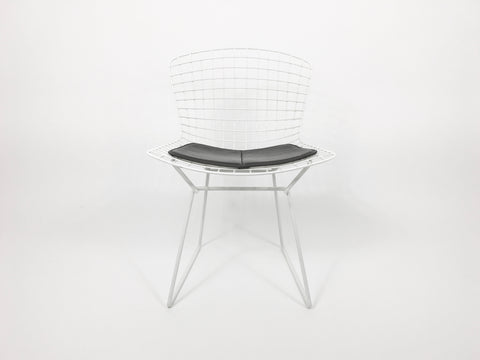 Knoll Bertoia wire side chair - White