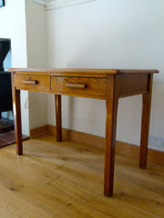 English 1930s oak desk