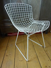 Original 70s Bertoia wire side chair by Knoll - eyespy